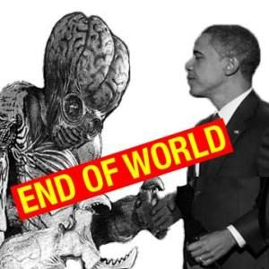 Spoof - PRESIDENT OBAMA BEGS YOU NOT TO PISS OFF SPACE ALIENS - Govt issues close encounter etiquette tips so rednecks don't destroy the planet.