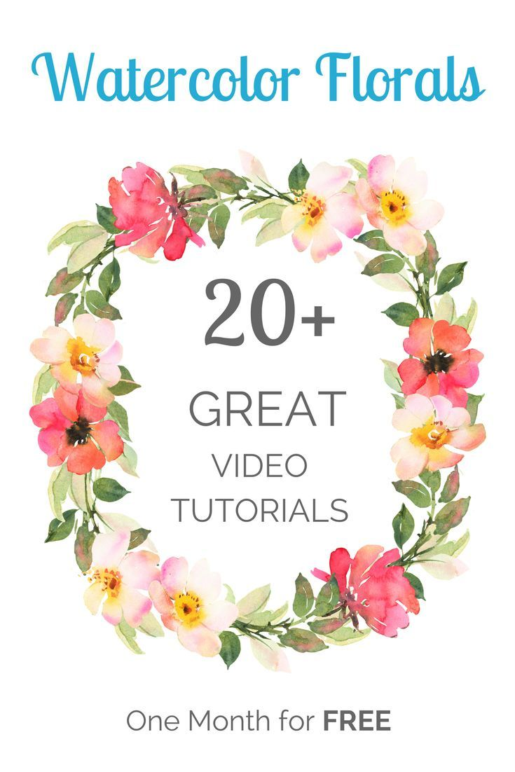 Watercolor Florals Best Watercolor Tutorials On How To Paint