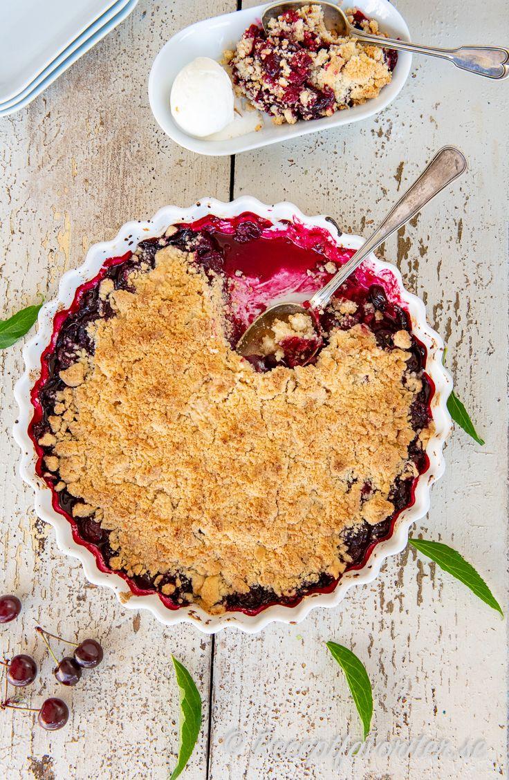 frysta körsbär recept
