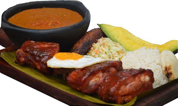 Montañero Costilla BBQ La Barra Resturante #Cali #ValledelCauca #Colombia