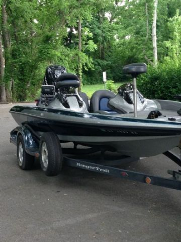 17.8 feet  2008 Ranger 178VX Bass Boat , Black,Grey, Blue for sale in Brentwood, TN