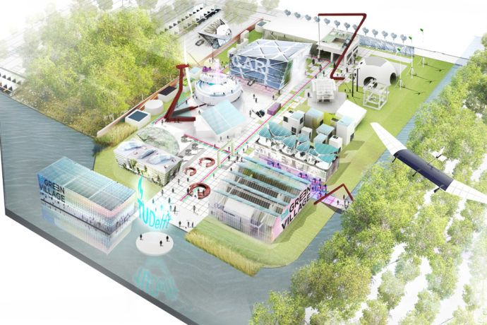 The Green Village aims to incubate sustainable projects in a private-public partnership