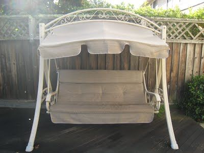 costco patio swing   most popular swing every sold  buy made in usa canopy and  replacement cushionspatio swingsunbrella fabricswing     12 best outdoor patio furniture refurbishing images on pinterest      rh   pinterest