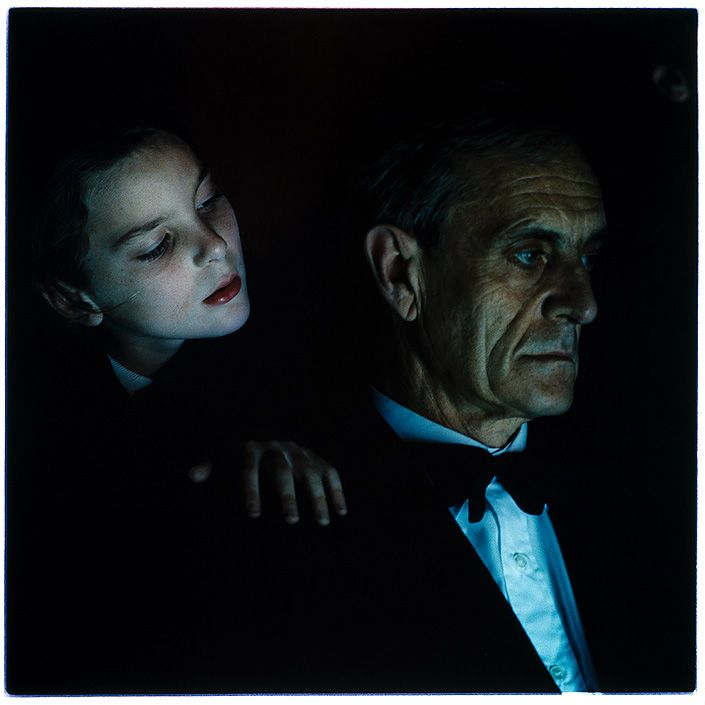 "Bill Henson, ""Untitled 29/77, 1990-91, Paris Opera Project"", type C photograph, 127 × 127cm, series of 50, Edition of 10 + 2 A/Ps"
