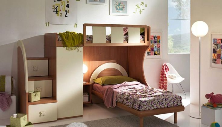 Quality and design in this #Giessegi bedroom! http://www.giessegi.it/it/camerette-ragazzi-bambini?utm_source=pinterest.comutm_medium=postutm_content=utm_campaign=post-camerette
