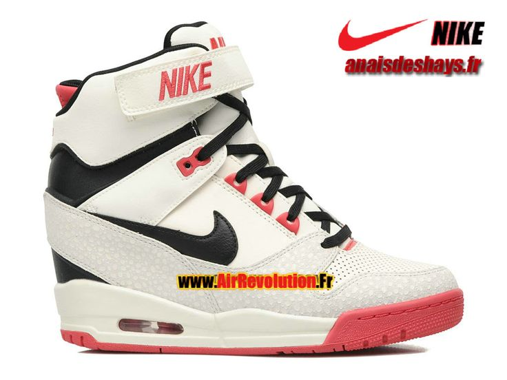 Boutique Officiel Nike Air Revolution Sky Hi GS Marine/Blanc/Fusion Rouge/Noir 599410-100