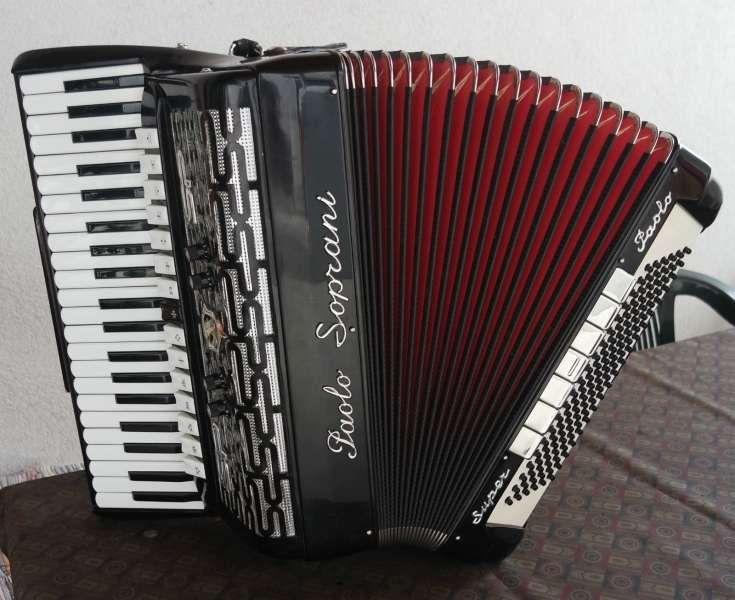 Fisarmonica Super Paolo Soprani Cassotto 120 Bassi 47192