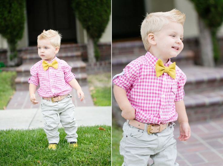 Pink plaid dress shirt for baby and toddler boys toddler style baby boy style cute baby boy ...