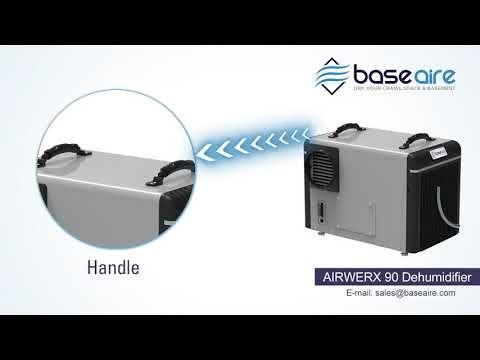 AIRWERX 90   Basement Dehumidifier Video   Dehumidifiers
