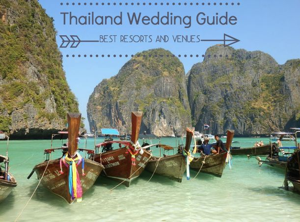 Are you considering a Thailand Wedding? Take a look at our resort and venue guide.