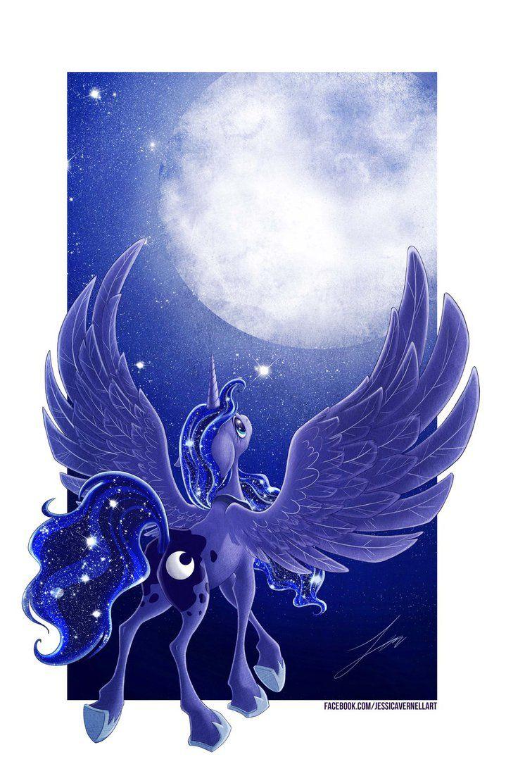 Princess Luna by ParkerLeif.deviantart.com on @DeviantArt
