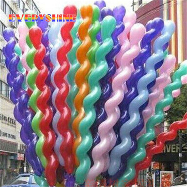 10pcs Screw Thread Balloon | Price: $3.95 | #babies #pregnancy #kids #mommy #child #love #momlife #babygirl #babyboy #babycute #pregnant #motherhood #photography #photoshoot