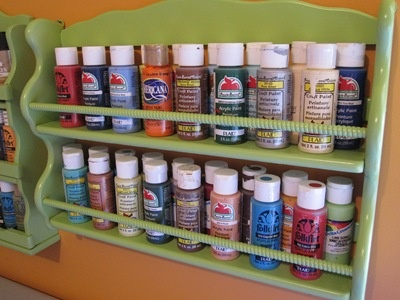 Wow it is a spice rack! Or it could organize makeup or perfume or.....