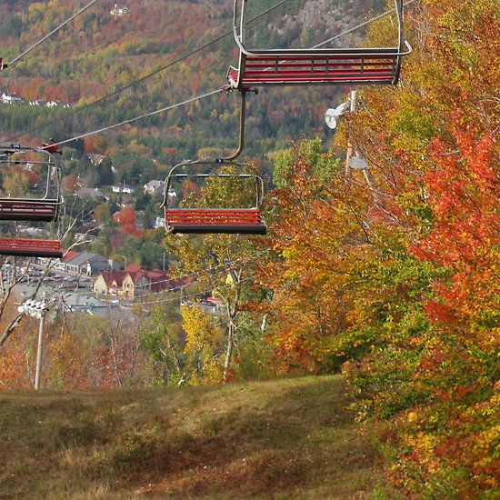 Fall at Mont St Sauveur