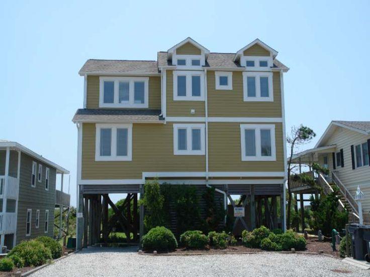 Holden beach nc sand 39 n surf 923 a 4 bedroom oceanfront - 4 bedroom cabins in north carolina ...