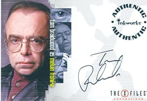 X Files Connections Autograph Card A7 Tom Braidwood As Melvin Frohike Inkworks http://www.amazon.ca/dp/B00SYFGKGQ/ref=cm_sw_r_pi_dp_LsdVwb0DEQX2P
