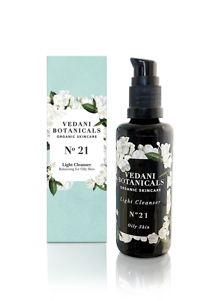 Ladies Light Cleanser No. 21 - For Oily Skin with hemp and tamanu.