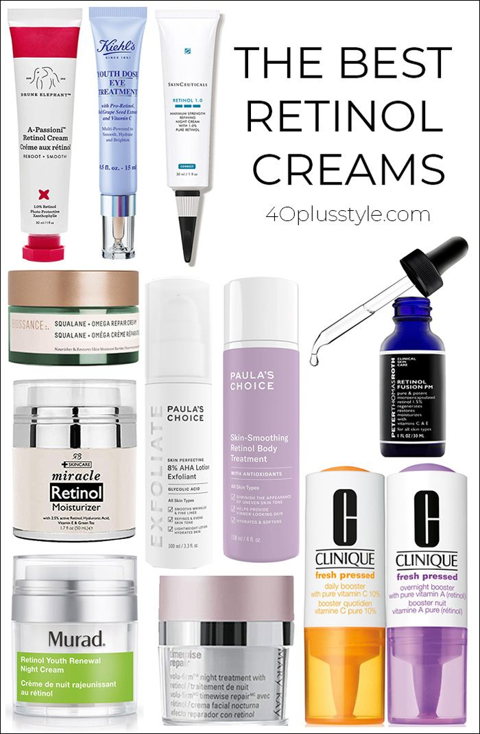 What is retinol and is it better than Aha creams? We