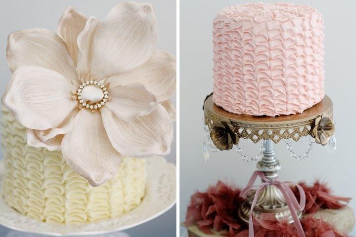 #ruffles #cakes #wedding