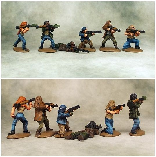 Khurasan Miniatures, 15mm Heavily Armed… | 15mm Modern Miniatures