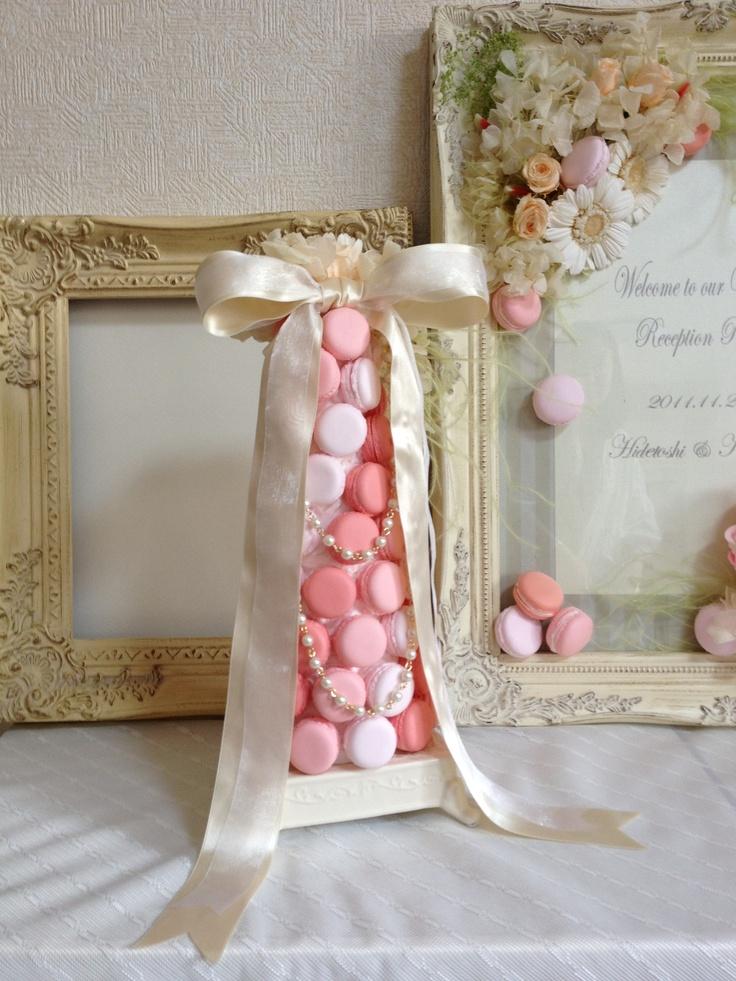 Dolce Deco Wedding, macaron tower