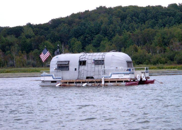 Mobile AS pontoon