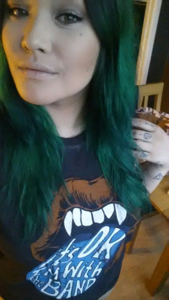 Manic Panic Enchanted forest and Green Envy! @marykaysan