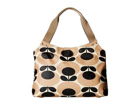 Orla Kiely Classic Zip Shoulder Bag Vermillion - Zappos.com Free Shipping BOTH Ways