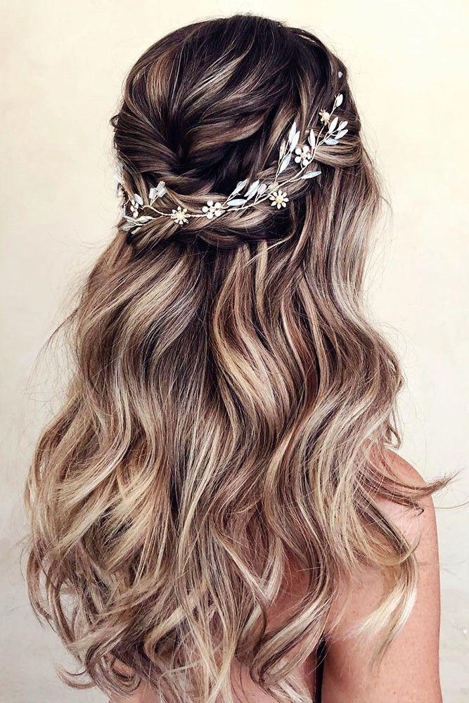 Zeitlose Hochzeitsfrisuren für langes Haar – H a i r