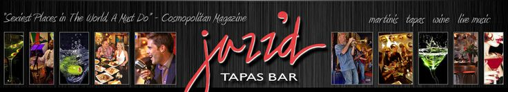 Jazz'd Tapas Bar: With creative cocktails and live  music six nights a week, Jazz'd  lures locals underground to  shake what their mamas gave  them. #Savannah