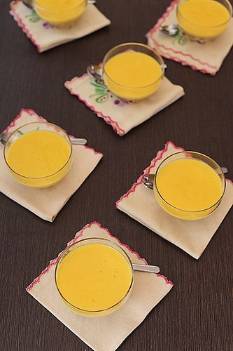 Easy Mango Pudding by Anushruti RK, via Flickr
