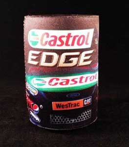 You'll always have the edge with this great Castrol beer cooler. Keep it cool on race day!