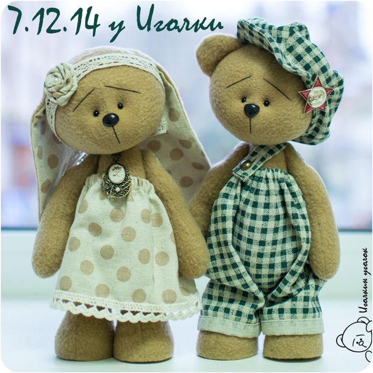 Иголкин уголок / The Needle Nook: Мишки/Teddy bears