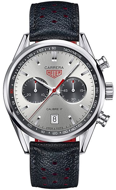 Steel limited-edition Jack Heuer 80th Birthday Carrera Chronograph by TAG Heuer
