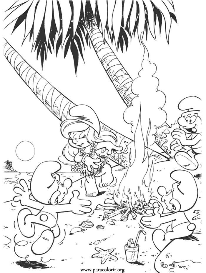 the 422 best smurfen images on pinterest the smurfs coloring