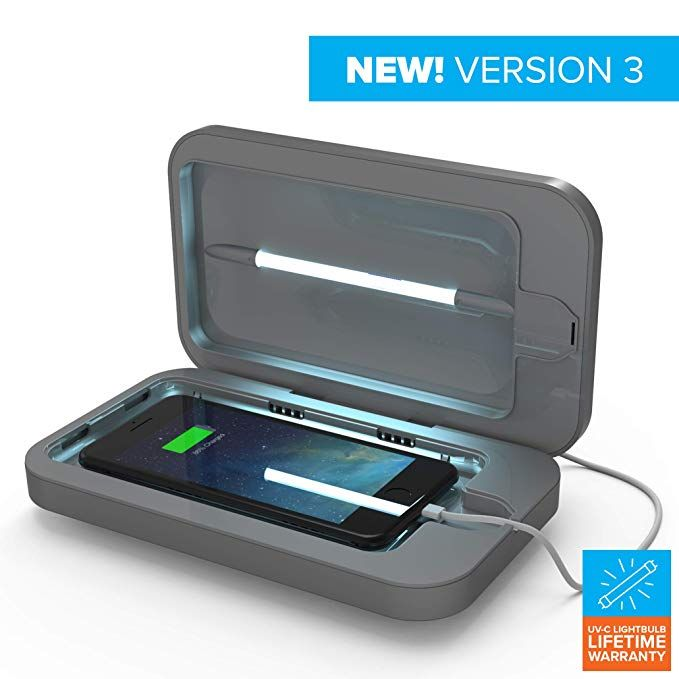 Portable Uv Cell Phone Sanitizer With Usb Charger A Multiuse Uv