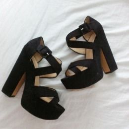 Available @ TrendTrunk.com Zara Heels. By Zara. Only $33.20!