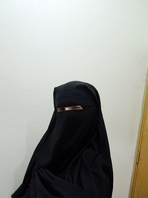 me in niqab