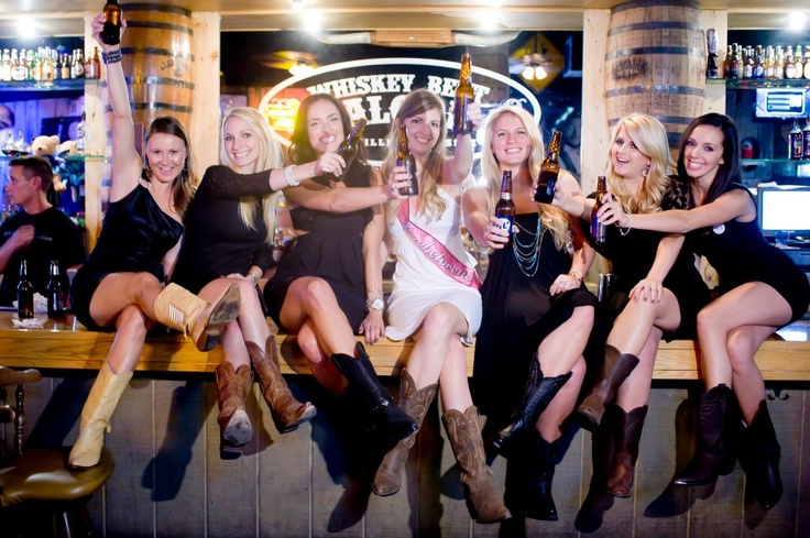 This party was @ Whiskey Bent Saloon, Nashville TN