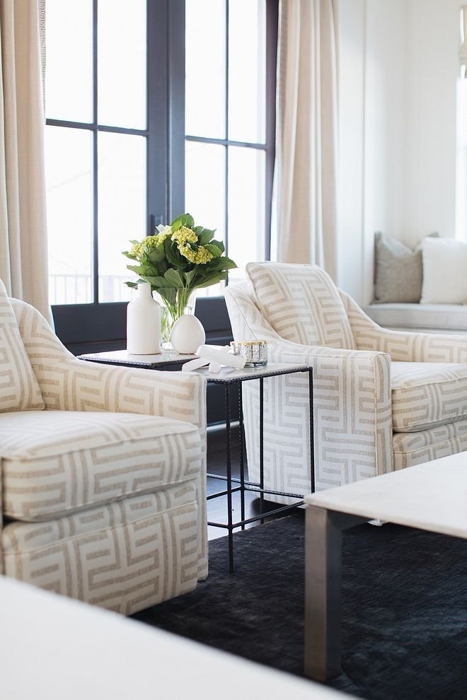 Living Room Accent Chairs Beautiful Pair Of Accent Chairs In