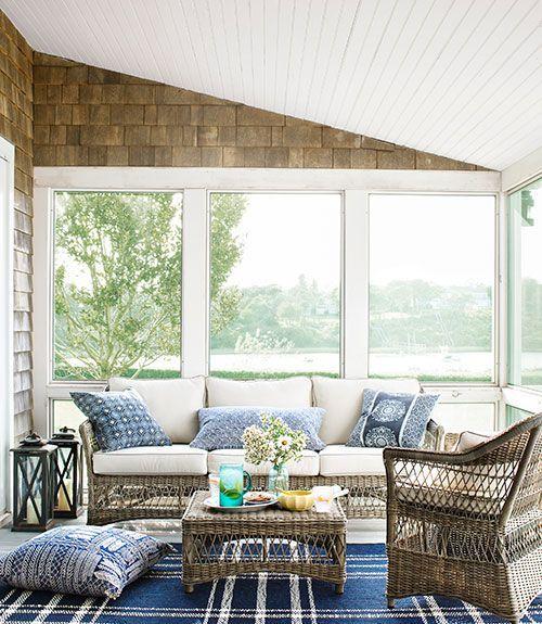 pretty beach house decor