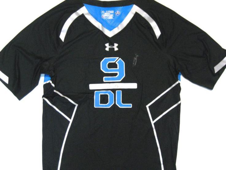 under armour 3xl. dominique easley 2014 nfl combine worn official blue \u0026 black under armour 3xl compression shirt ( 3xl 0