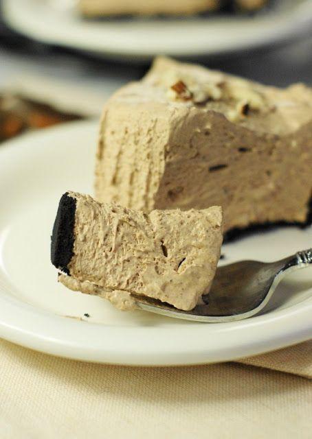 No-Bake Hershey's Chocolate Bar Pie