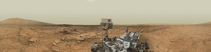 """NASA's Mars Exploration Program (Image credit: NASA/JPL-Caltech/MSSS)Curiosity Rover's Self Portrait at """"John Klein"""" Drilling SiteThis self-portrait of NASA's Mars rover Curiosity combines 66 exposures taken by the rover's Mars Hand Lens Imager (MAHLI) during the Sol 177th of Curiosity's work on Mars (Feb. 3, 2013). The rover is positioned at a patch of flat outcrop called """"John Klein"""", which was selec..."""