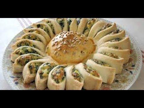 Sunny Spinach Pie recipe! - YouTube  https://www.youtube.com/watch?v=3p2r5I83mDw