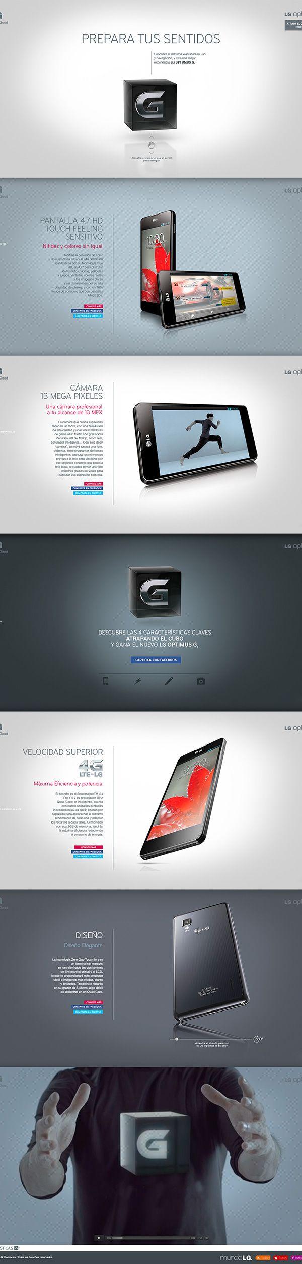LG Optimus G on Behance. http://bit.ly/1oUJyd0