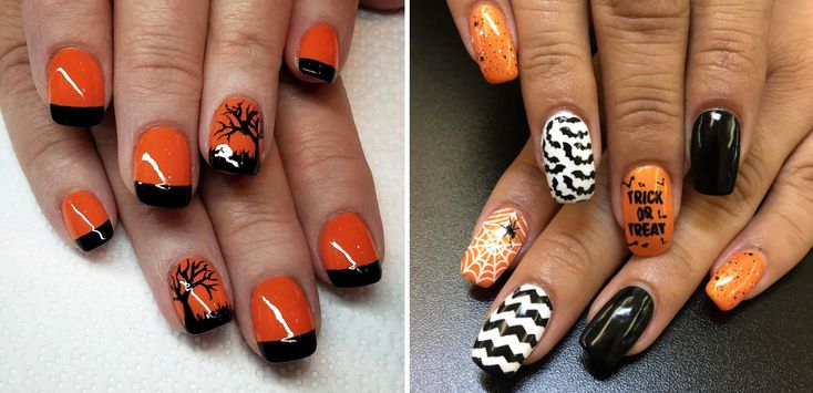 Halloween Nail Designs Pictures Lovely Halloween Nail Art ...