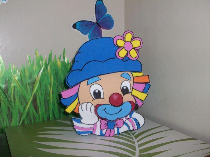 payasos para cumpleaños on Pinterest   Clowns, Mesas and Doll Eyes