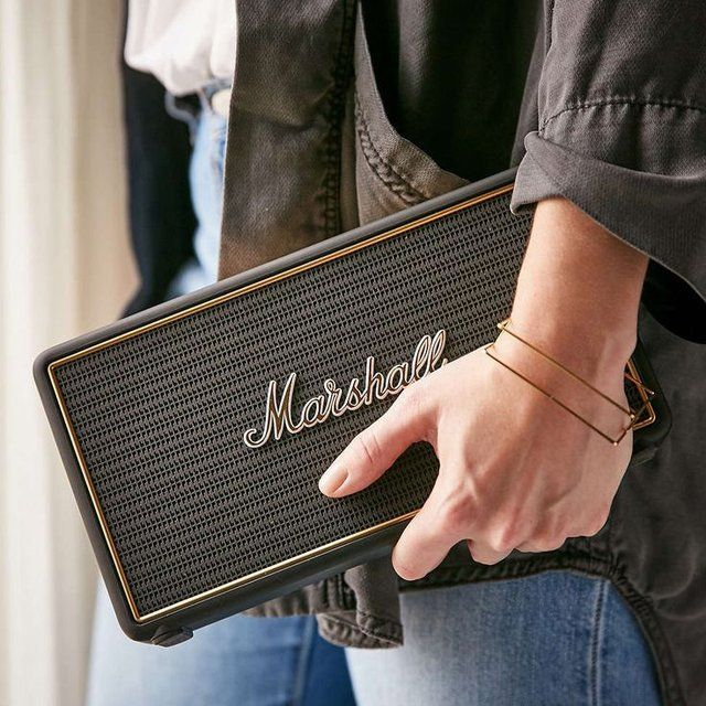 Marshall Stockwell Bluetooth Travel Speaker #Bluetooth, #Portable, #Premium, #Speaker