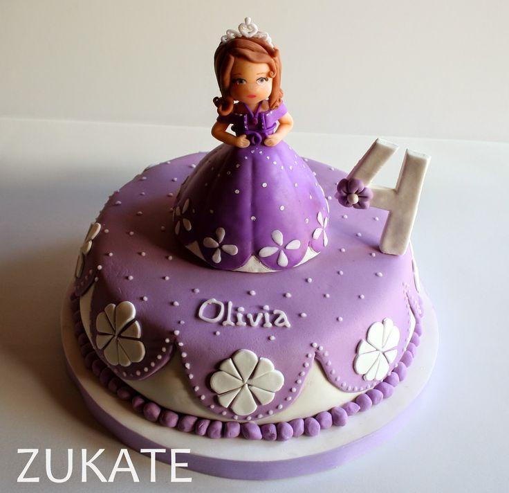 tortas de cumpleaños de la princesita sofia - Buscar con Google